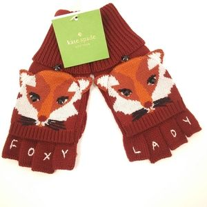 NWT KATE SPADE Foxy Lady Gloves